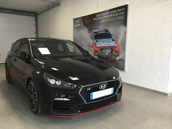 Groupe rabot actualit s essai nouvelle hyundai i30n for Garage peugeot poissy